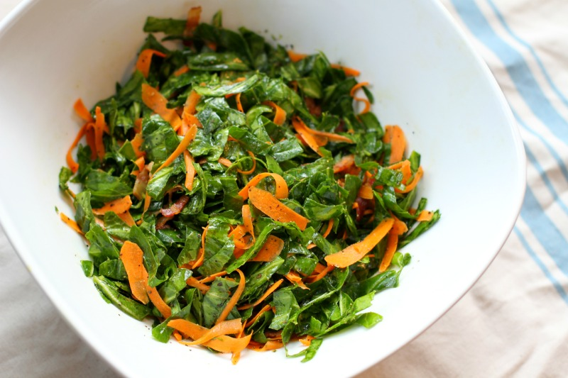 Collard Slaw by Mr. Coatney (Paleo)